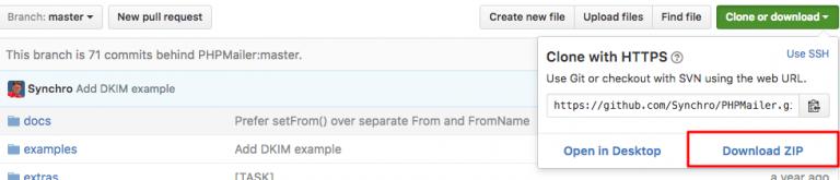 phpmail at github